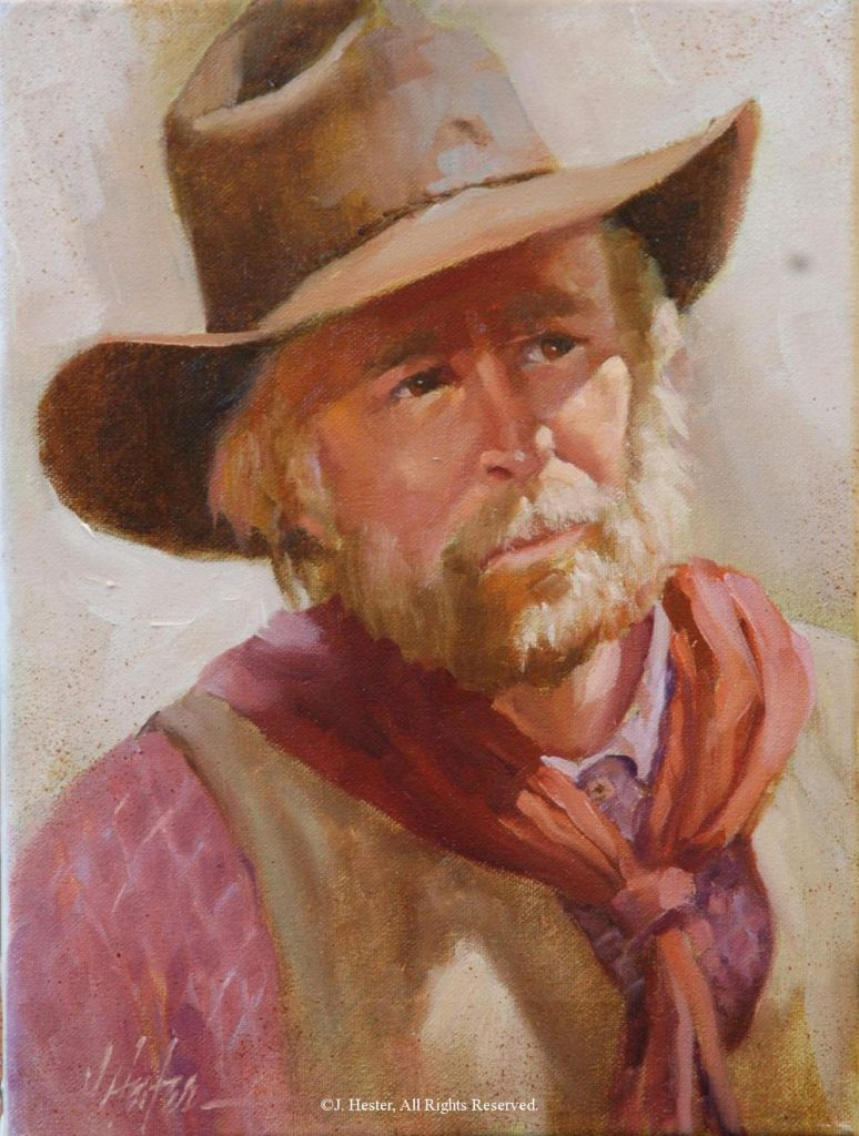 """Durango"" <BR> 9"" x 12"" Framed Original Oil Durango J. Hester Originals Available J. Hester Art"