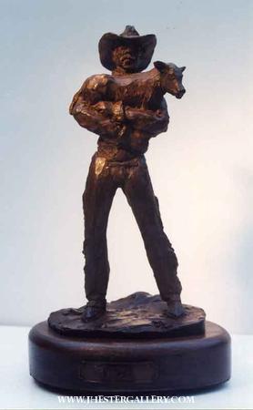 """Friends""<br>12"" h Limited Edition Bronze Sculpture Friends Maquetts Monumental Sculpture"