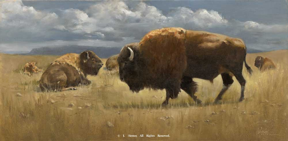 """High Plains Drifters""<BR>Limited Edition Giclee Print High Plains Drifters - Giclee Giclee Prints - Wildlife Reproductions - Wildlife"