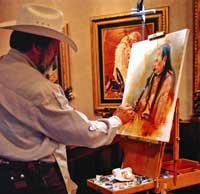 Native AmericanReproductions of J. Hester's Original Oil Paintings - Prints - Prints -