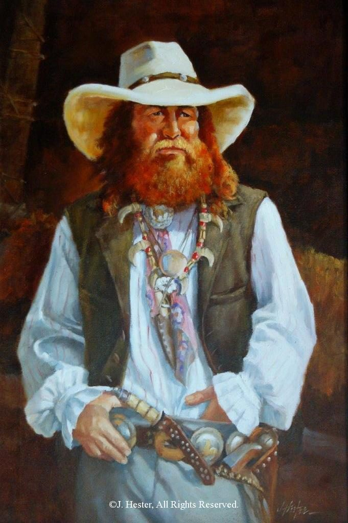 """Rambler""<BR>36"" x 24"" Framed Original Oil Rambler J. Hester Originals Available J. Hester Art"