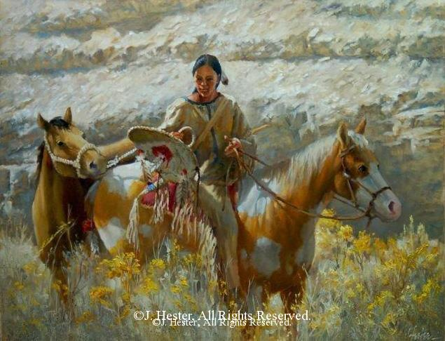 """Rescued"" <BR> 22"" x 28"" - Framed Original Oil Painting Rescued - Sold Privately Owned J. Hester Paintings Archive of J. Hester Paintings"