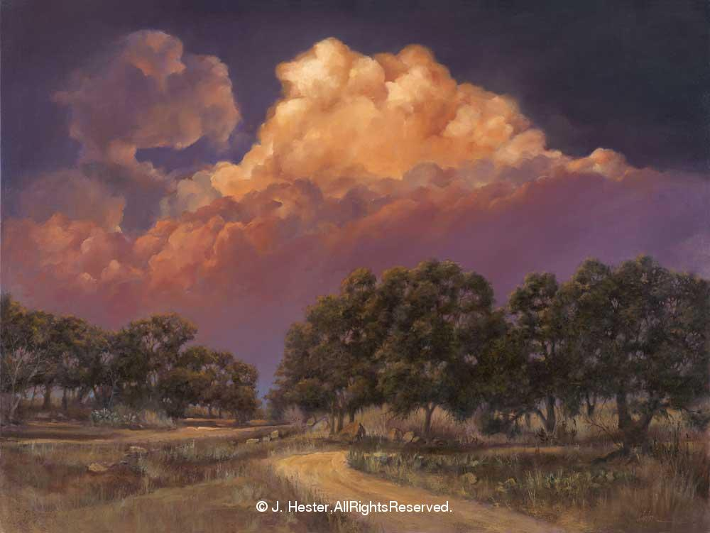 """Thunderhead""<BR>Limited Edition Giclee Prints Thunderhead - Giclee Giclee Prints - Landscapes Reproductions - Landscapes"